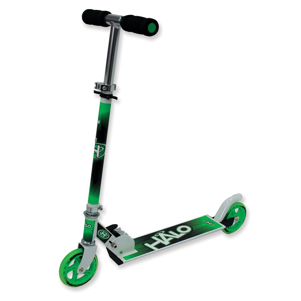 Halo - Trottinette de luxe verte