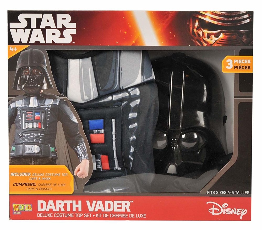 Darth Vader Costume top set