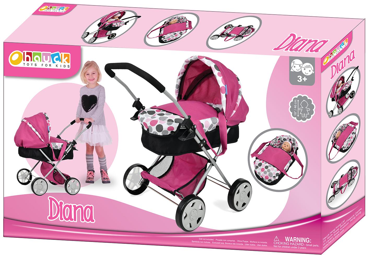 Dot Pink - Landau de luxe