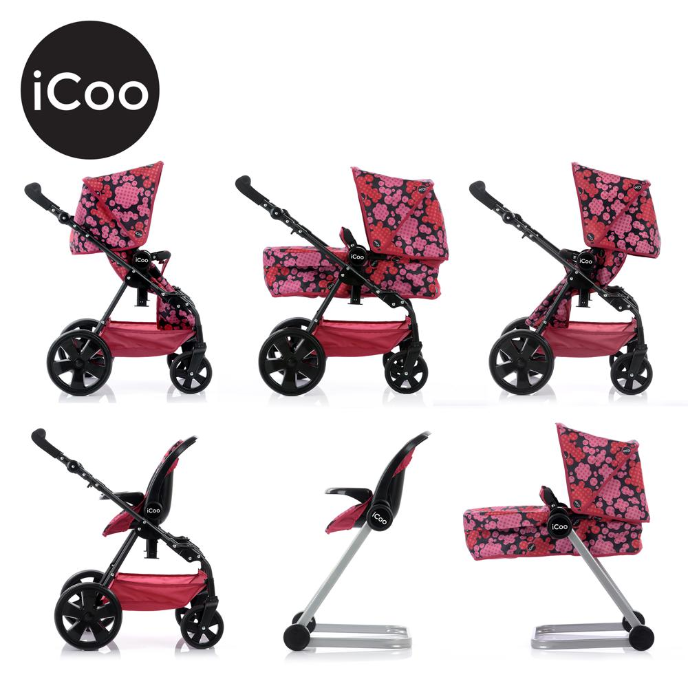 Icoo - Ensemble 3-en-1 Grow with me pour poupée