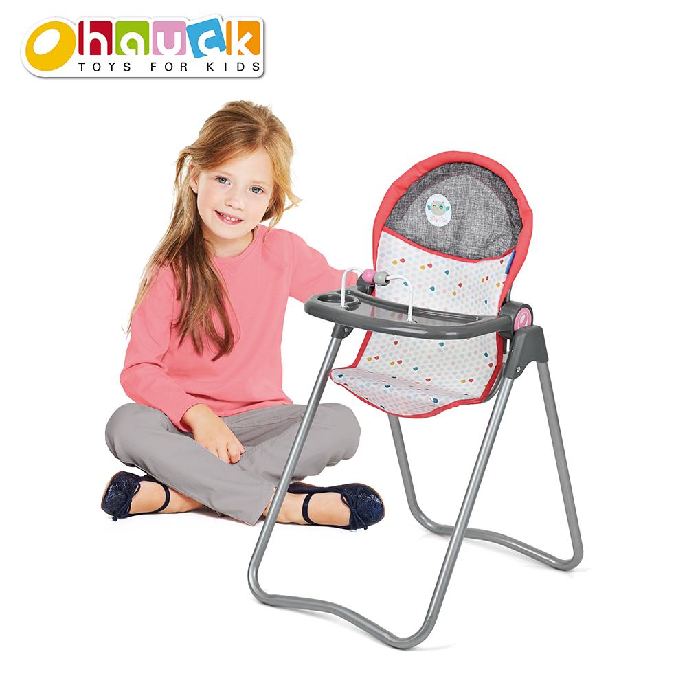 Play'n go - Chaise haute pour poupée