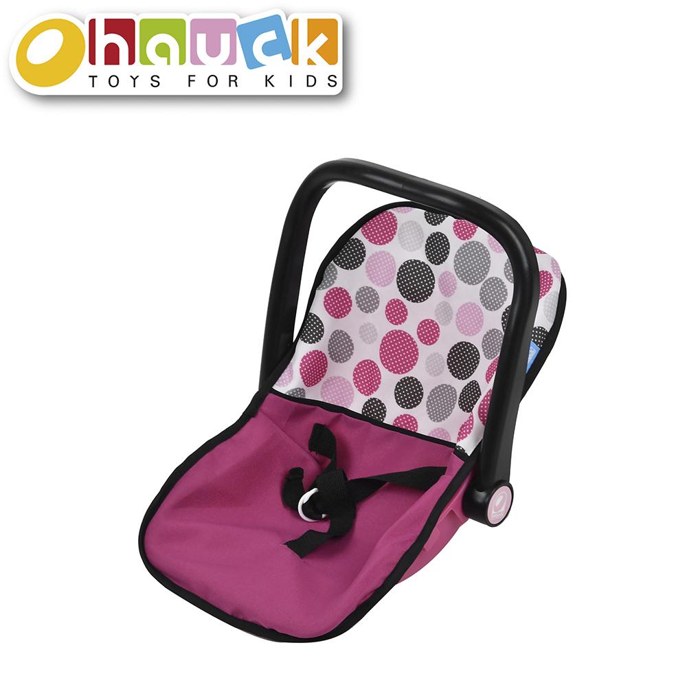 Pink Dot - Siège d'auto pour poupée