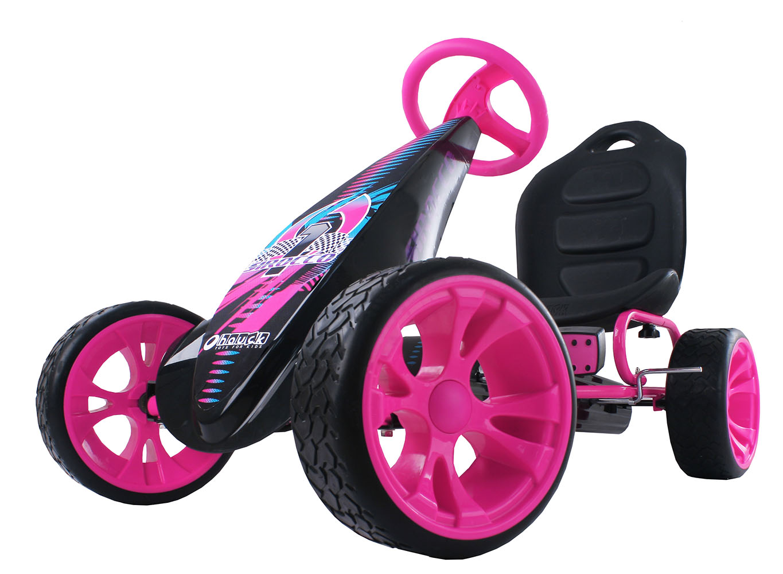 Sirocco Go Kart à pédales Rose