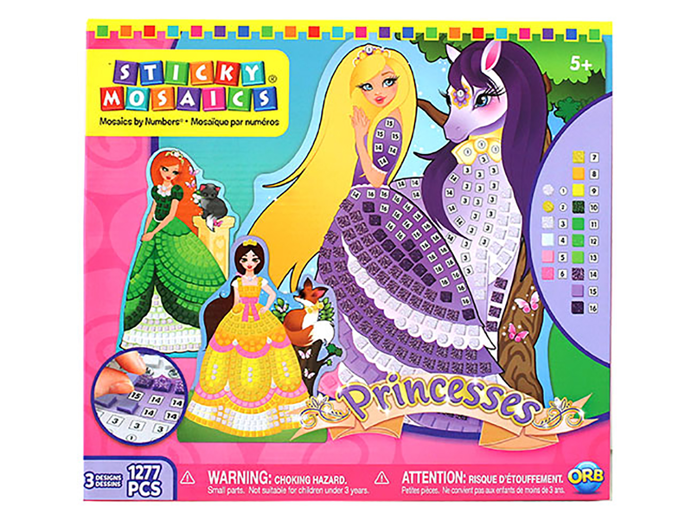 Sticky Mosaics - Princesses
