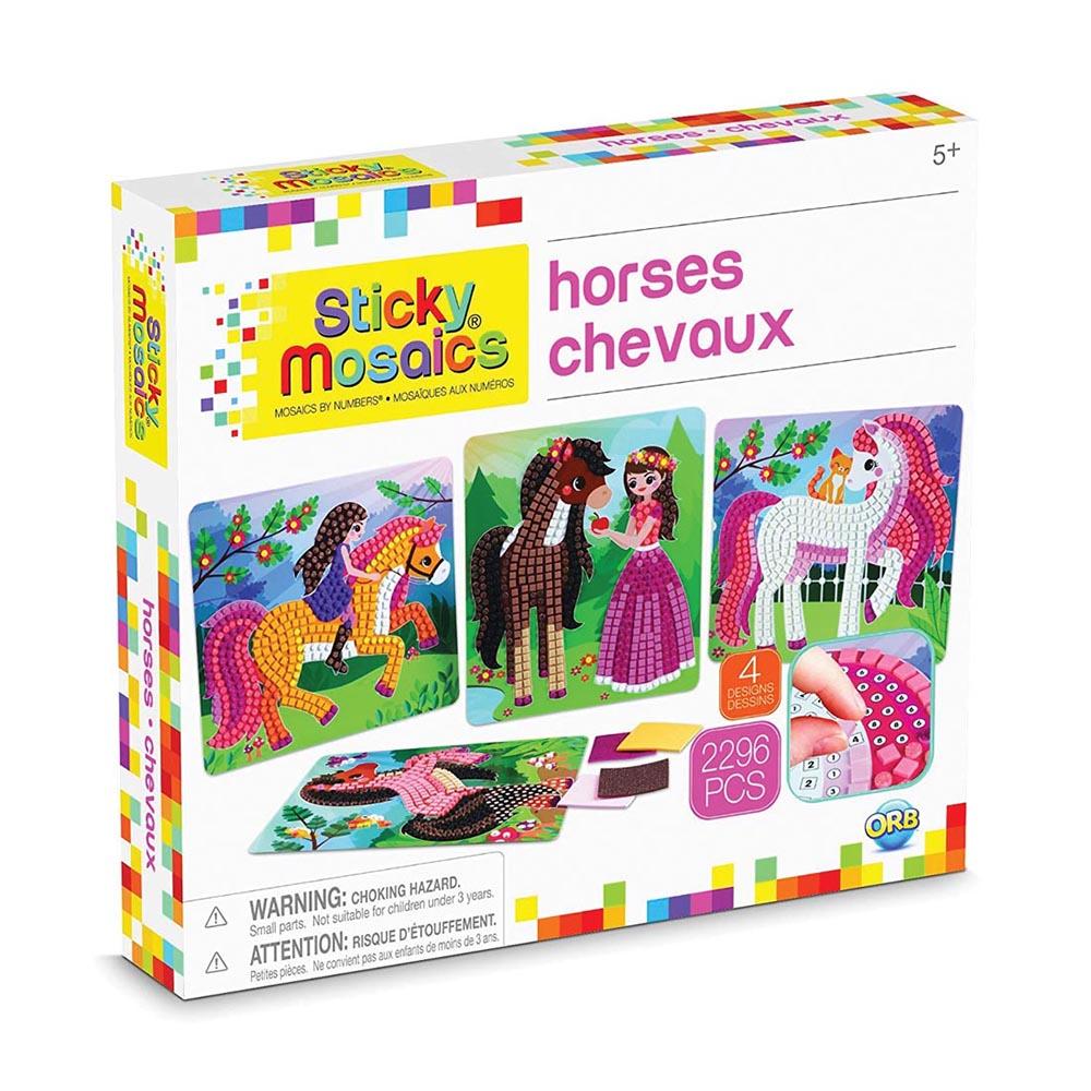 Sticky Mosaics - Cheval