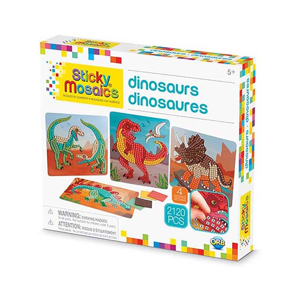 Sticky Mosaics - Dinosaures