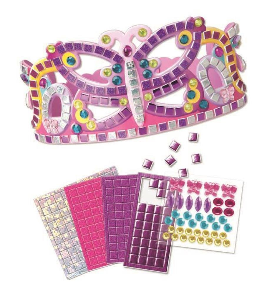 Sticky Mosaics - Couronne princesse papillons