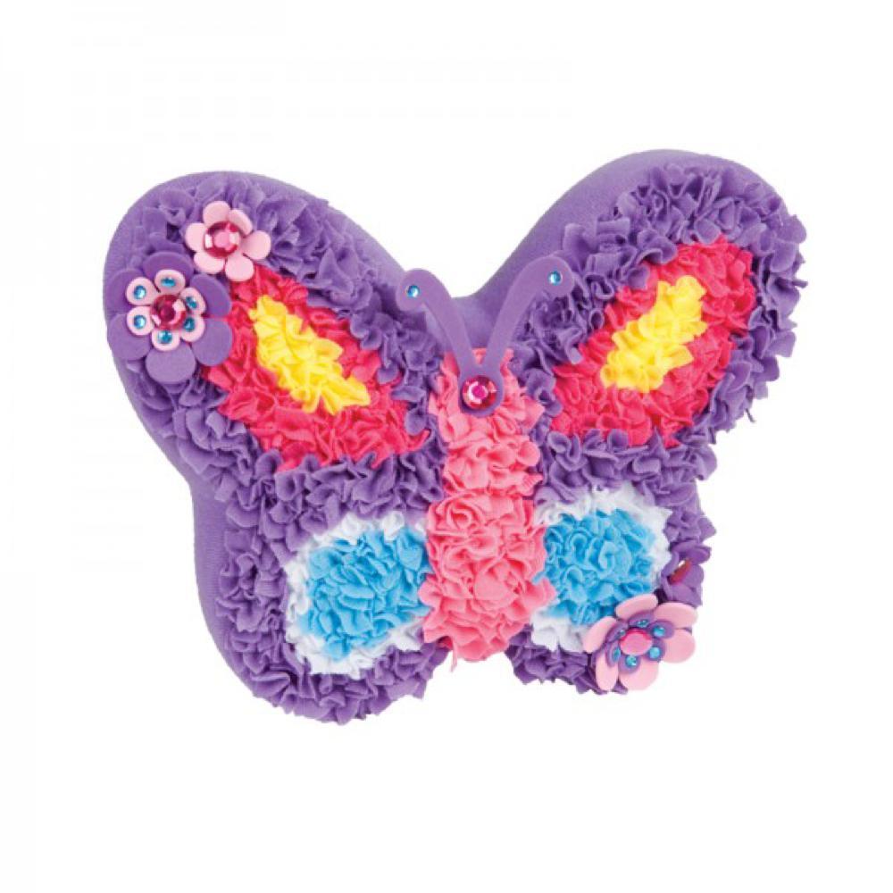 Peluche Créative - Coussin Papillon