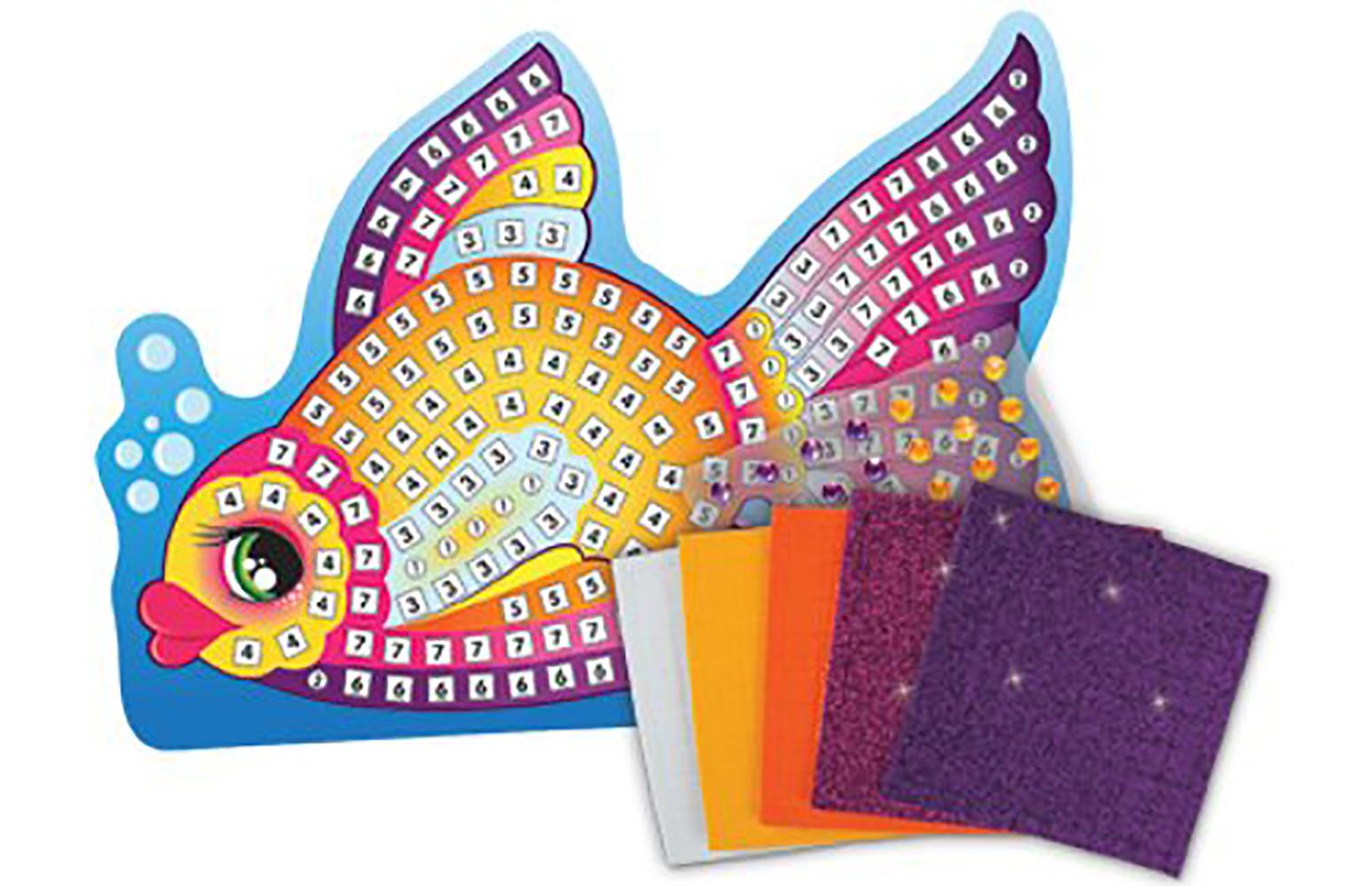 Sticky Mosaics - Poisson
