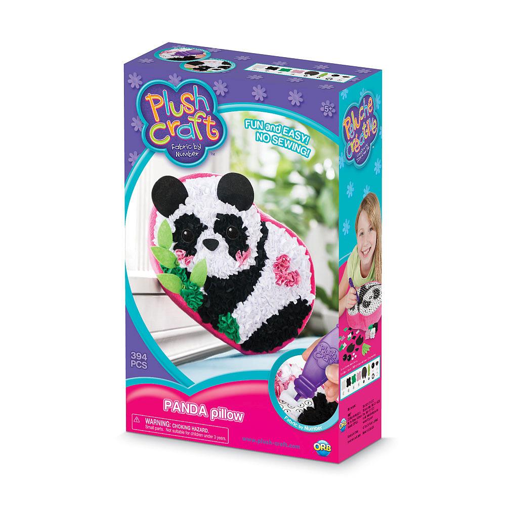 Peluche Créative - Coussin Panda