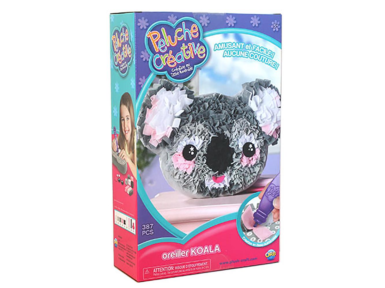 Peluche Créative - Coussin Koala