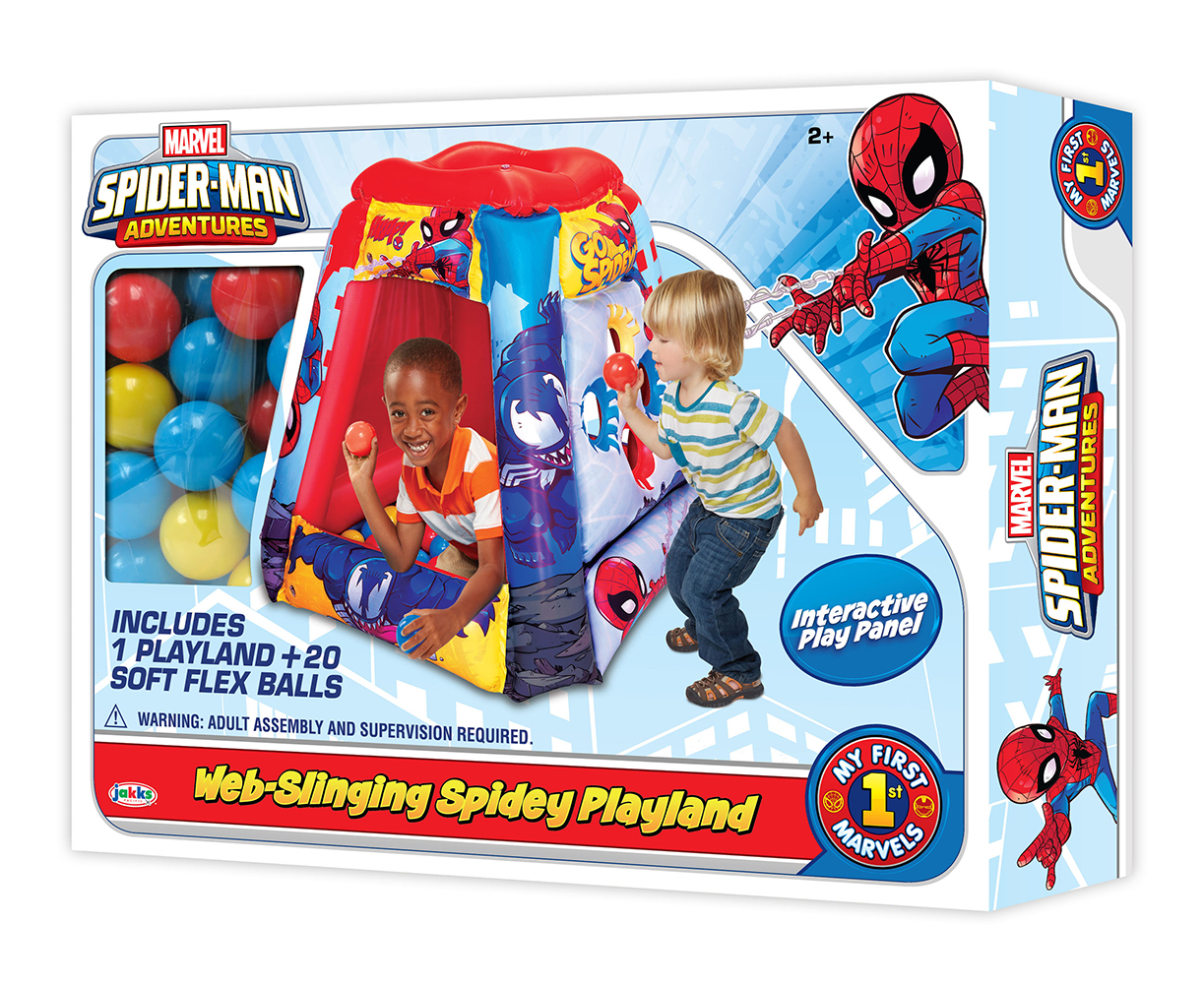 Spiderman Playland avec 20 balles