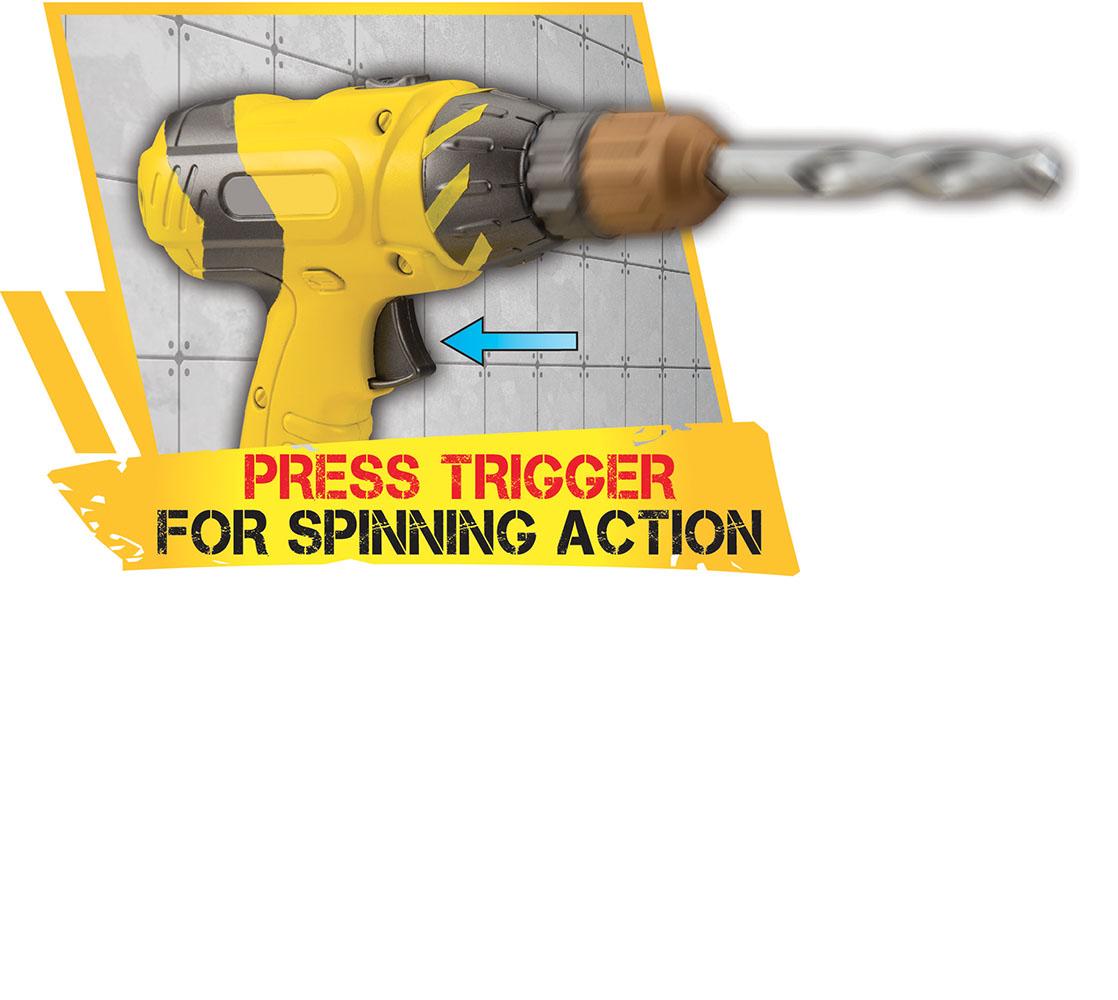 Tuff Tools Jr. - Perceuse et accessoires