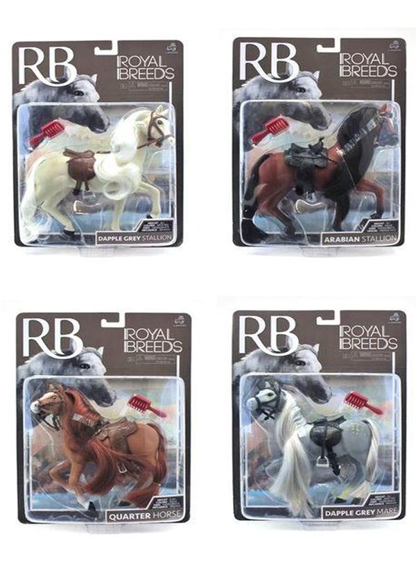 Royal Breeds - Cheval de collection 18 cm assortis