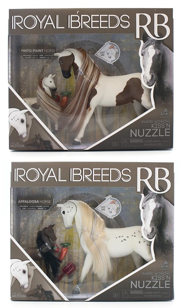 Royal Breeds- Ensemble câlin maman et son poulain modèles assortis