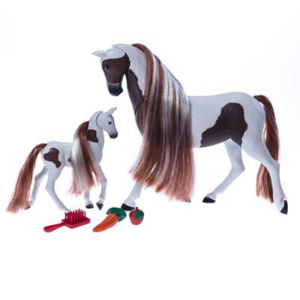 Royal Breeds - Ensemble câlin maman et son poulain modèles assortis