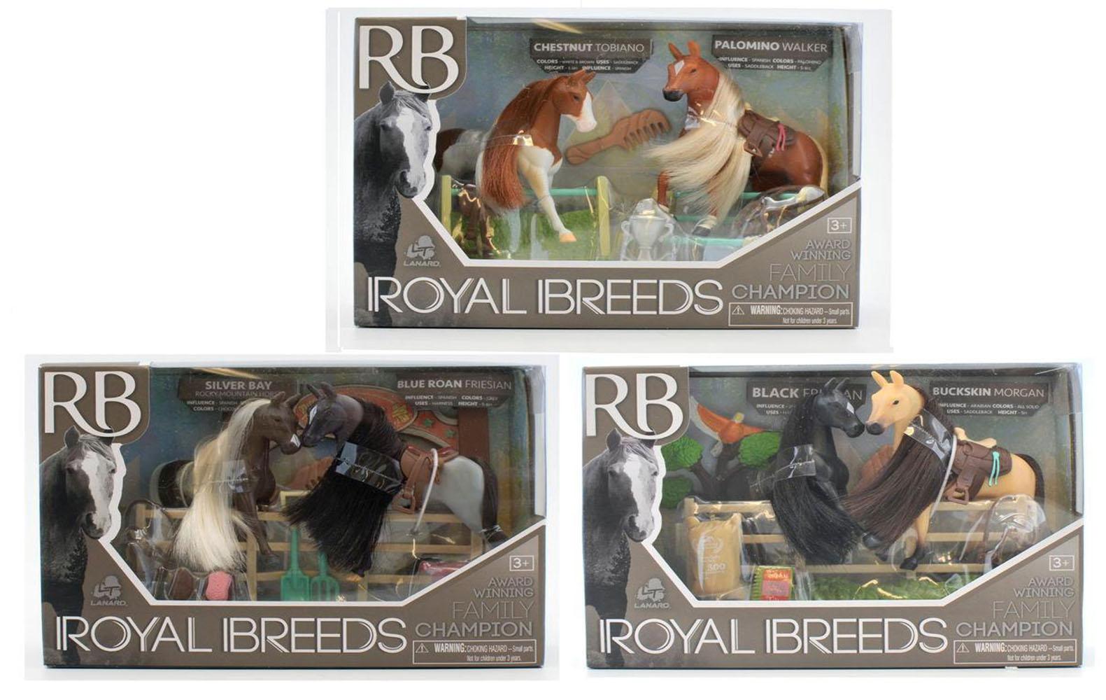 Royal Breeds-Famille de champions assortis
