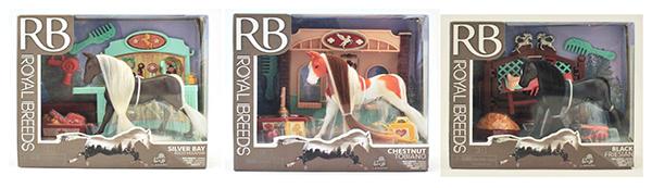 Royal Breeds Ensemble de jeu et accessoires assortis