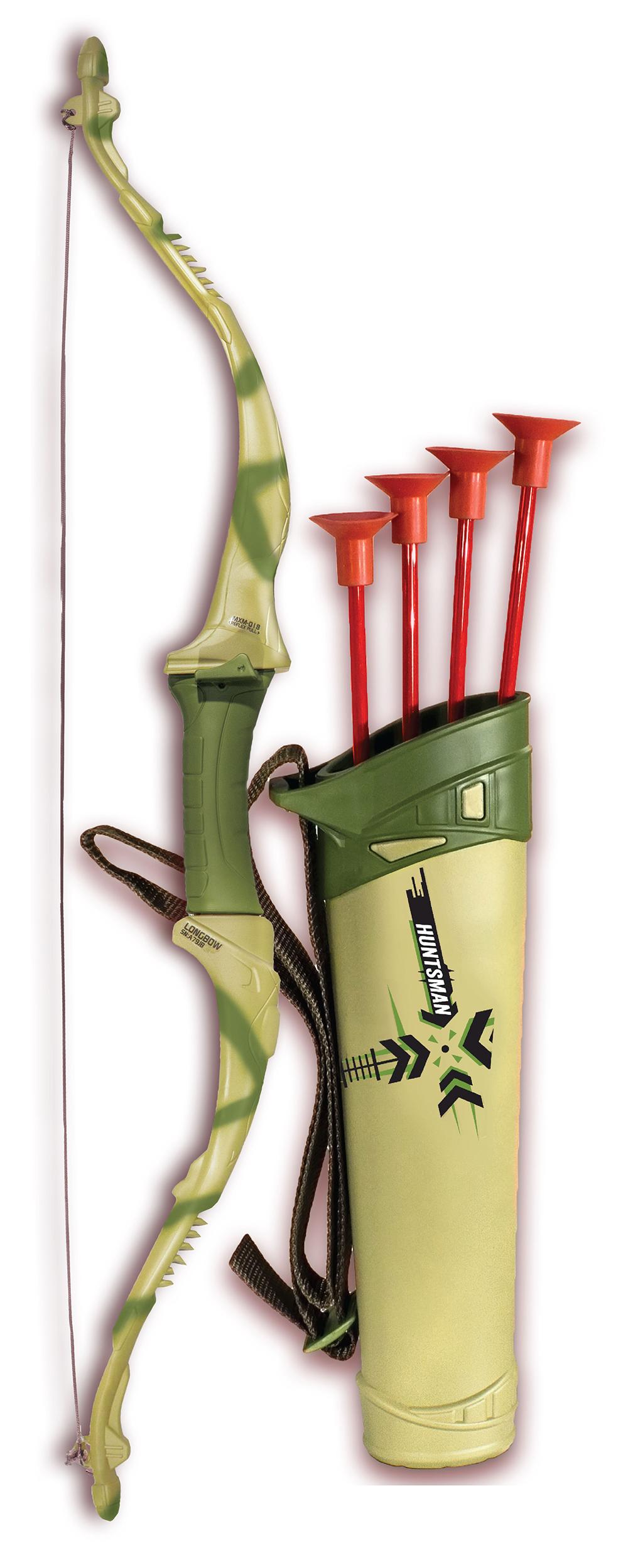 Huntsman - Arc long Tracker avec flèches