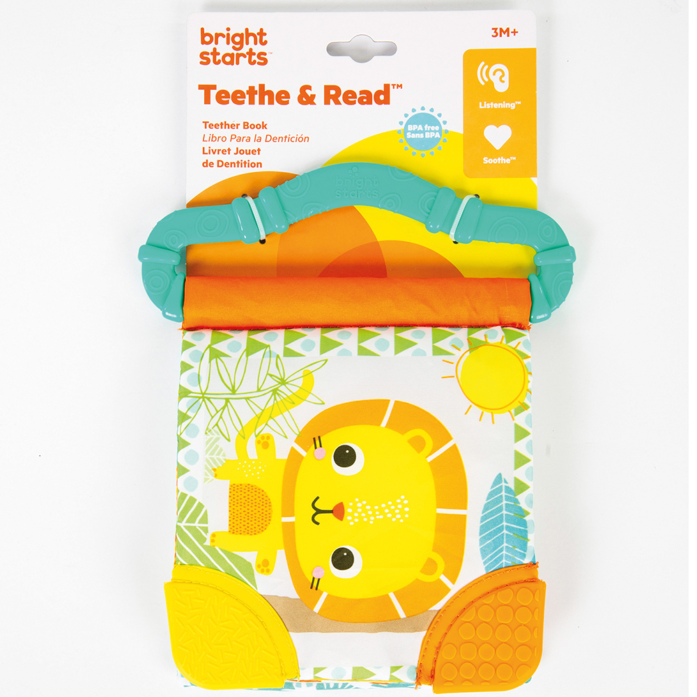 Bright Starts - Livre de dentition assortis
