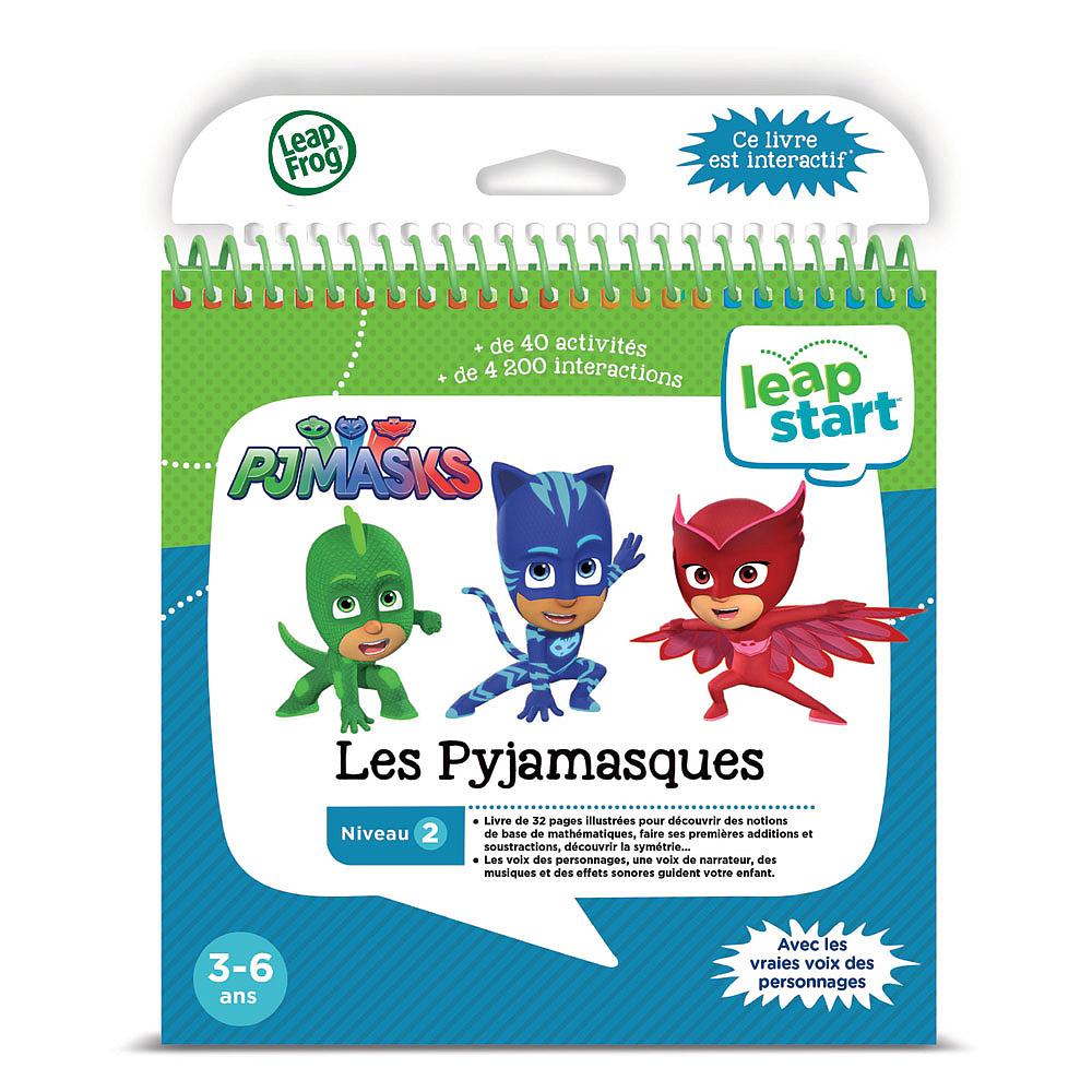 LeapStart Livre Les Pyjamasques Version française