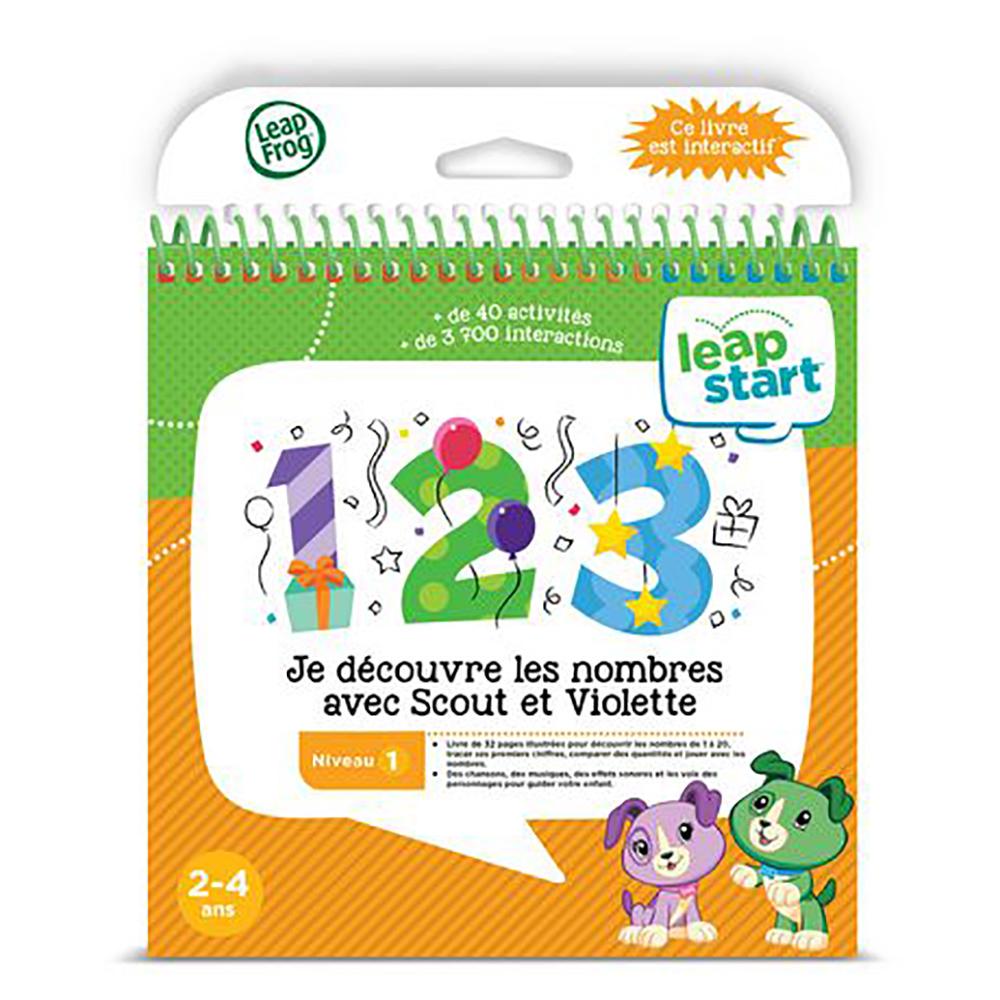 LeapStart Je découvre les nombres avec Scout et Violette - Les mathématiques - Version française