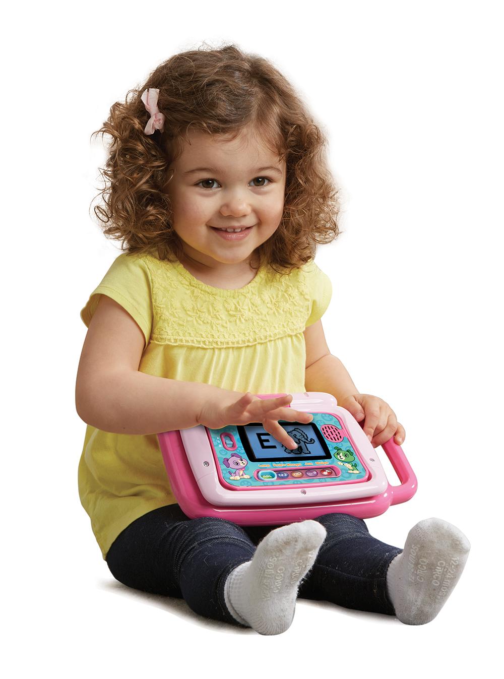 LeapFrog - Ordi-tablette p'tit genius touch rose - Version française