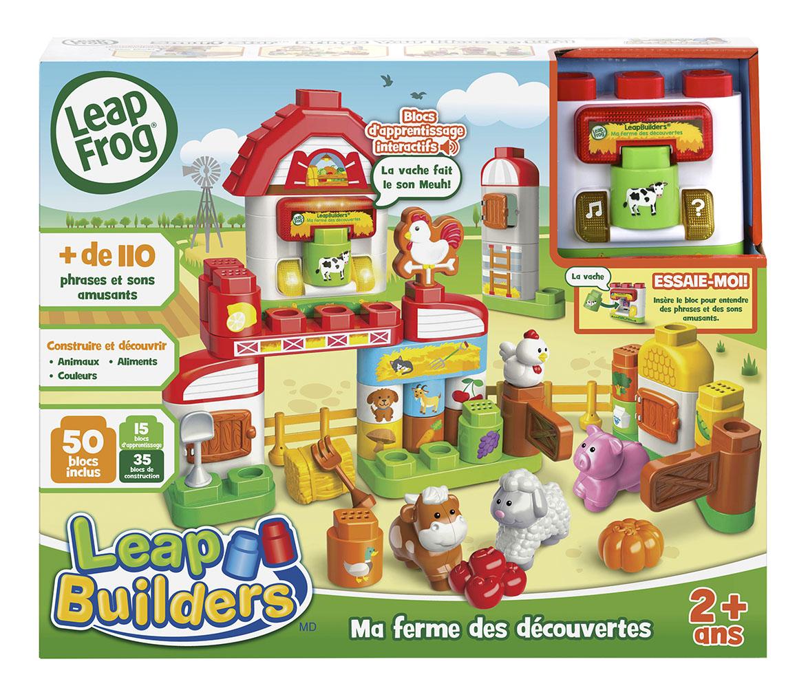 LeapBuilders® Ma ferme des découvertes Version française