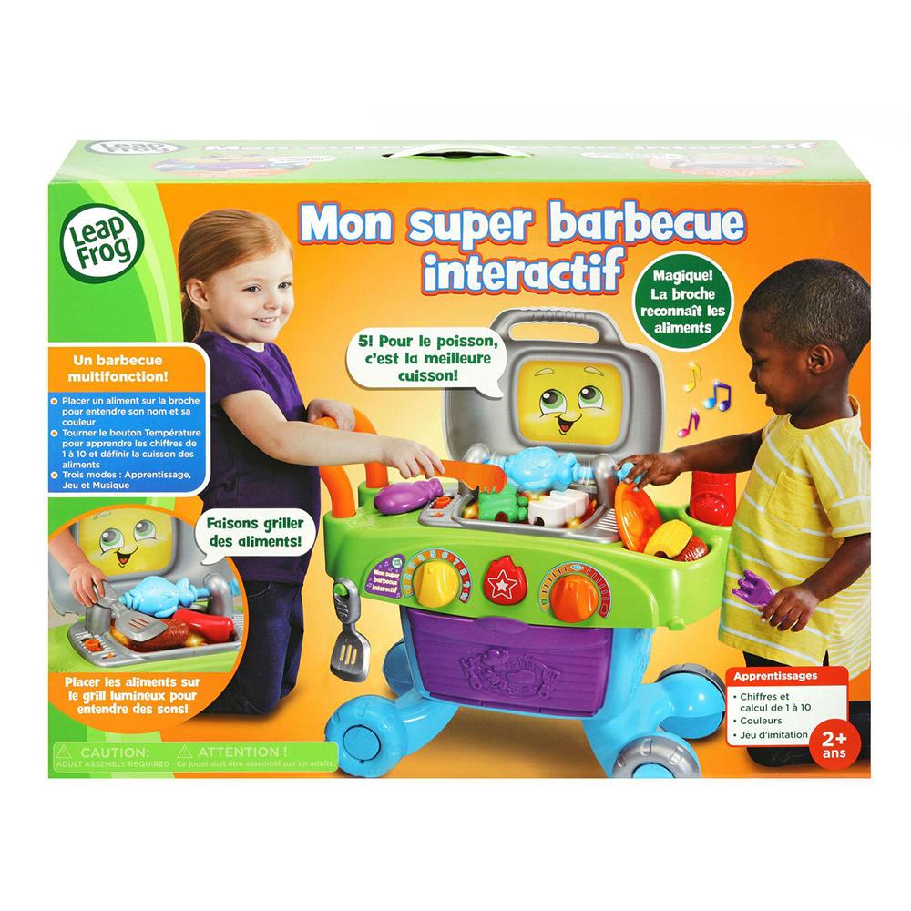 LeapStart - Mon super barbecue interactif Version française
