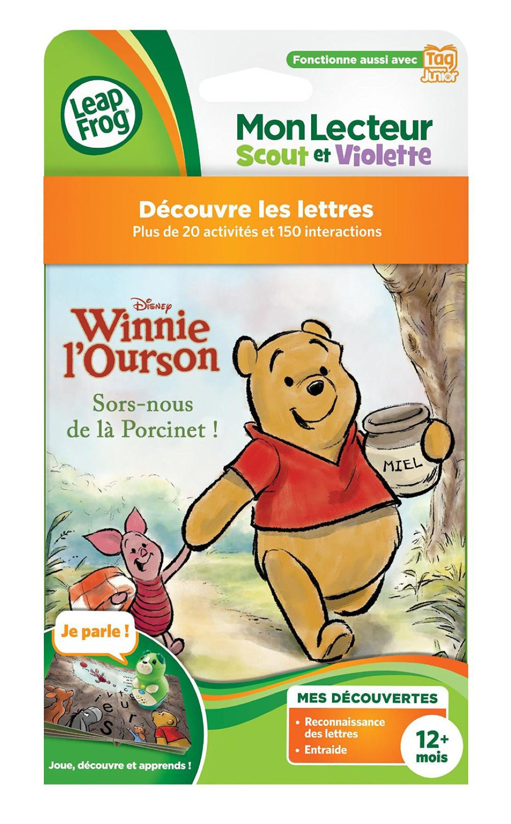 Leapreader Junior Livre Winnie L Ourson