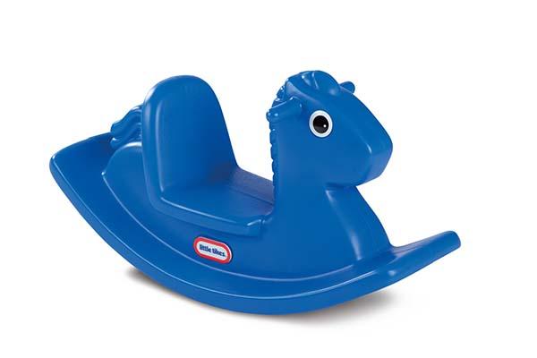 Little Tikes - Cheval berçant bleu