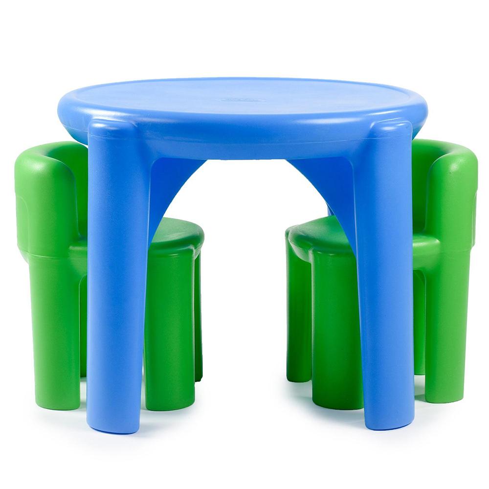 Little Tikes - Table et chaises bleu&vert