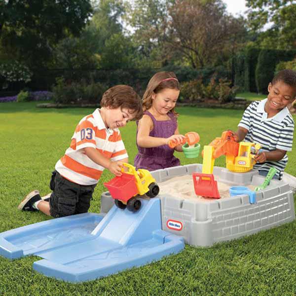 little tikes bac sable construction club jouet achat de jeux et jouets prix club. Black Bedroom Furniture Sets. Home Design Ideas