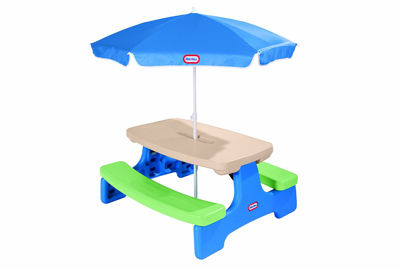 Litte Tikes - Table pique-nique avec parasol