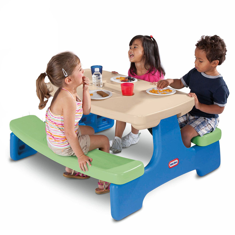 Little Tikes - Table pique-nique easy store