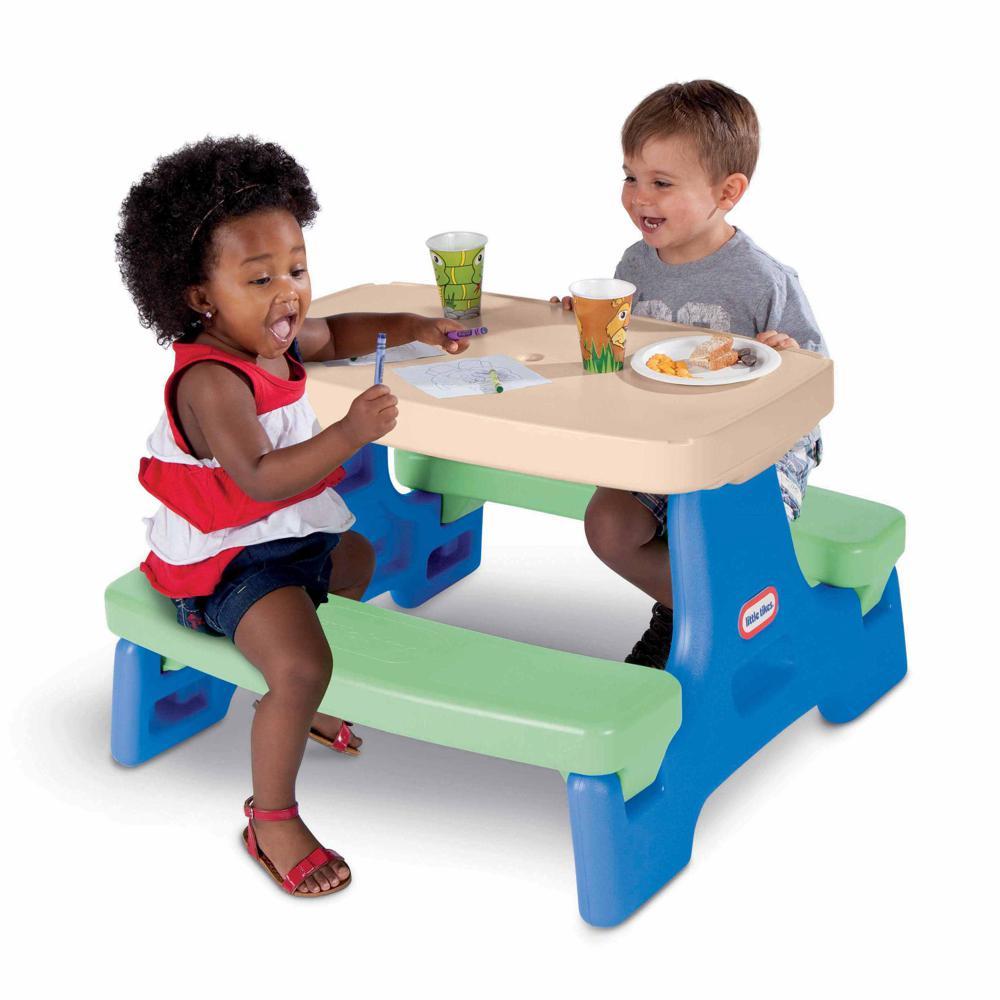 Little Tikes - Table de jeu Easy Store Jr.