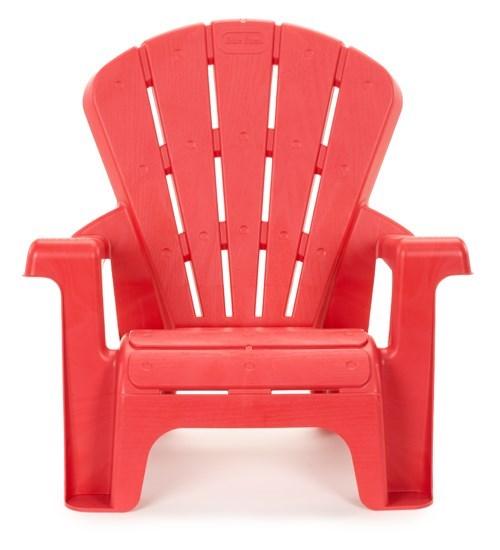 Little Tikes - Chaise de jardin rouge