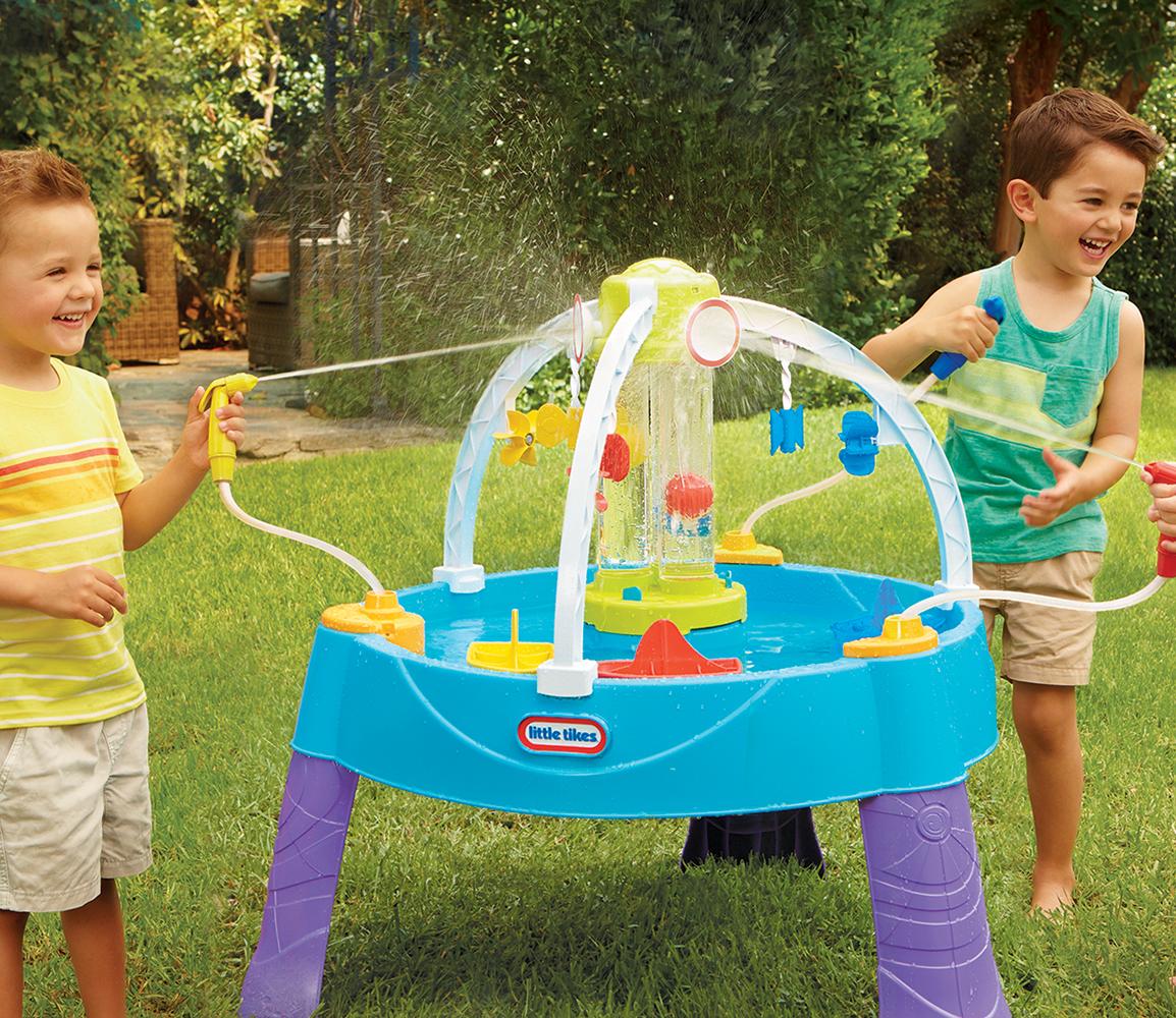 Little Tikes - Table d'eau Battle Splash