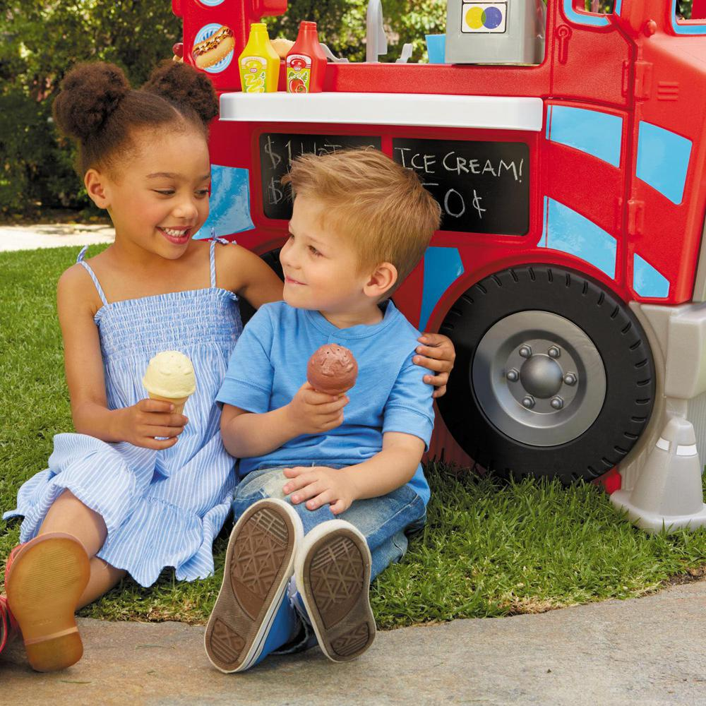 Little Tikes - Food truck 2-en-1