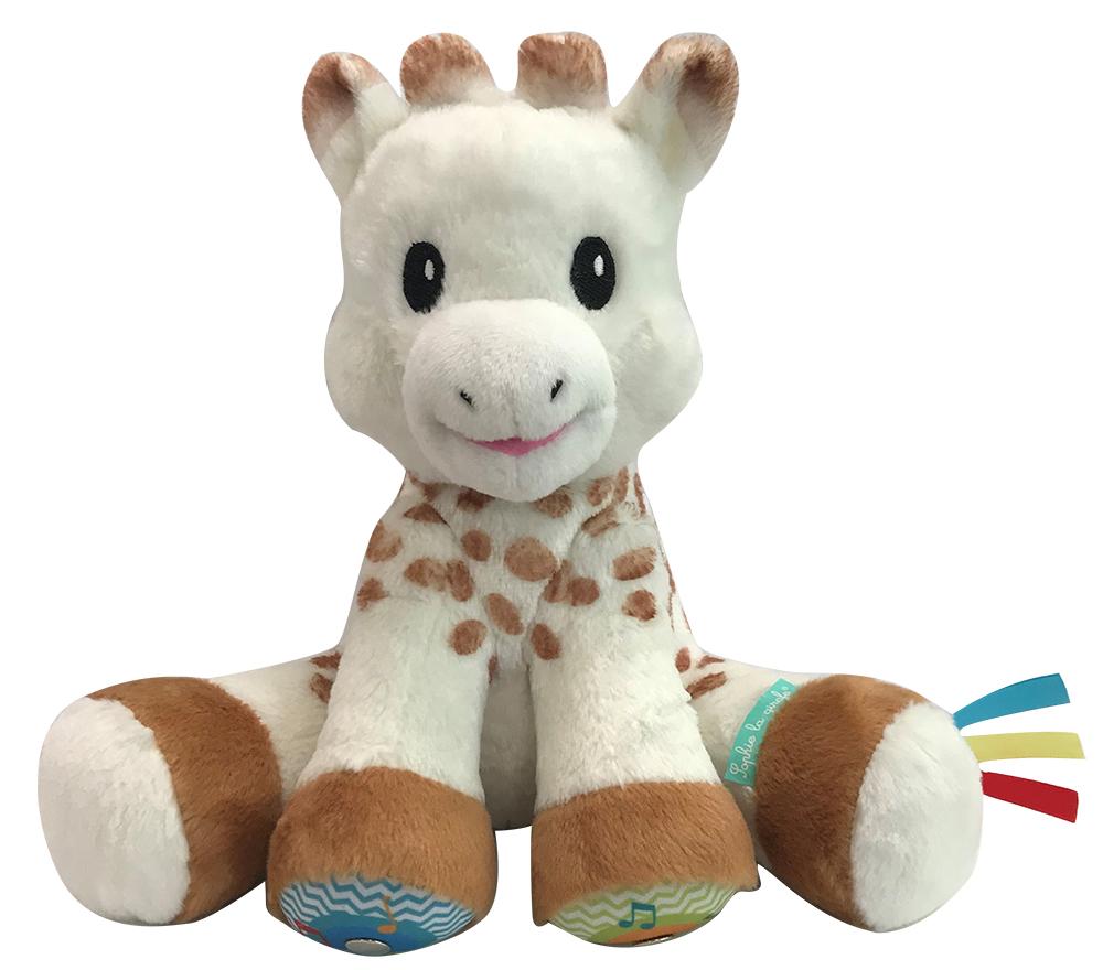 Sophie la girafe - Touche et musique