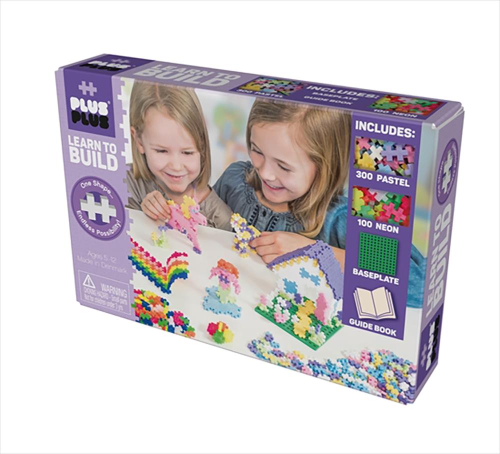 plus plus apprend construire pastel club jouet achat de jeux et jouets prix club. Black Bedroom Furniture Sets. Home Design Ideas
