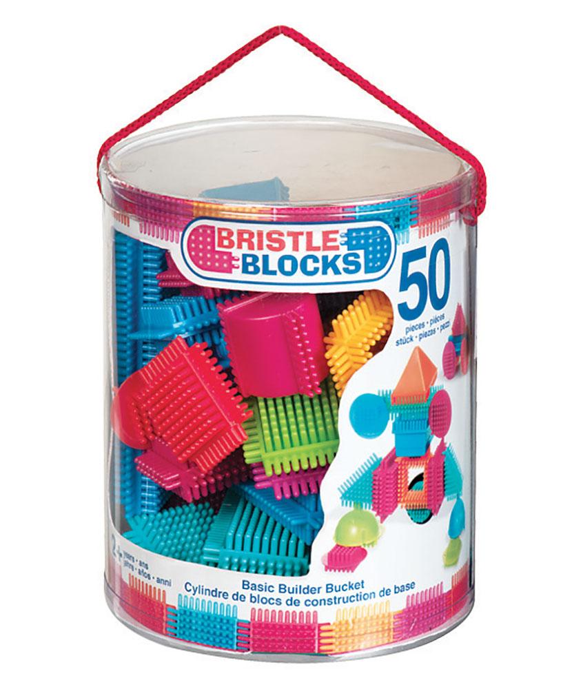 Bristle blocks Seau 50 pièces