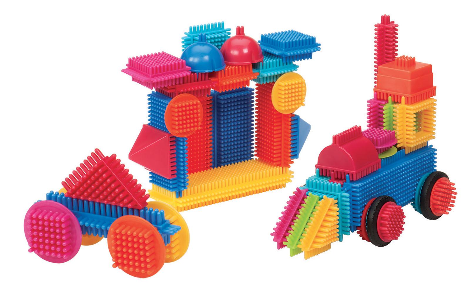 Bristle Blocks - Seau 50 pièces