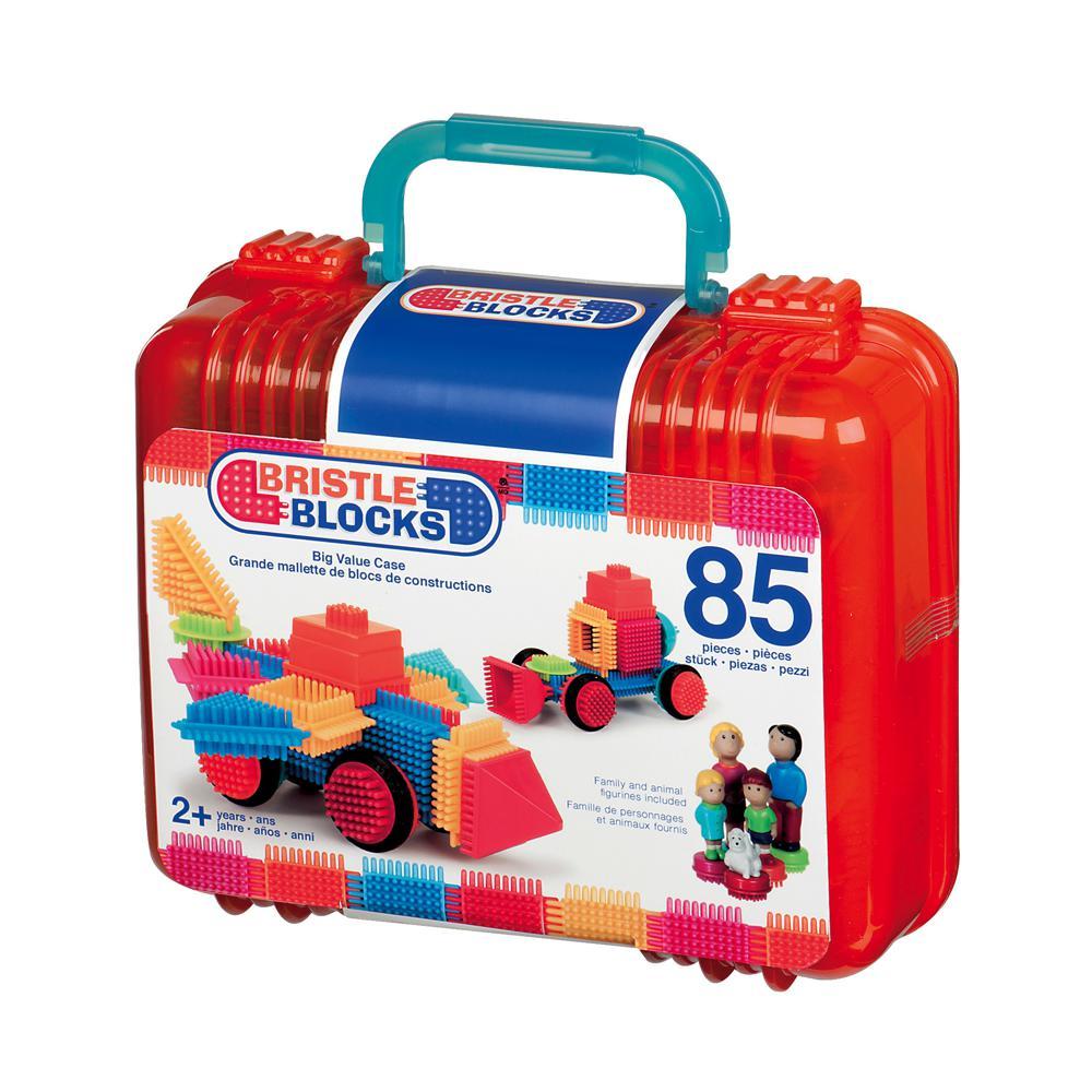 Bristle Blocks - Mallette de 85 pièces