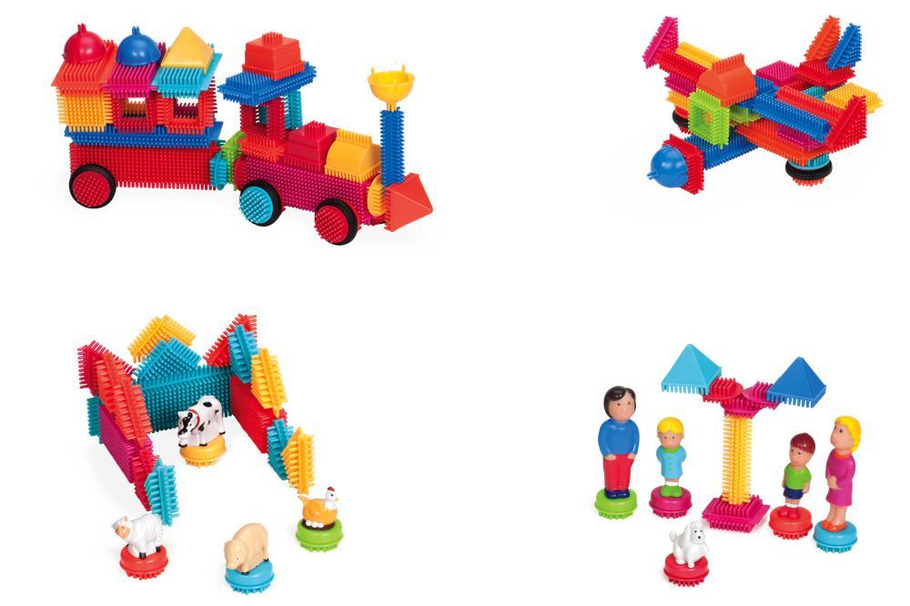 Bristle Blocks - Mallette de luxe de 113 pièces