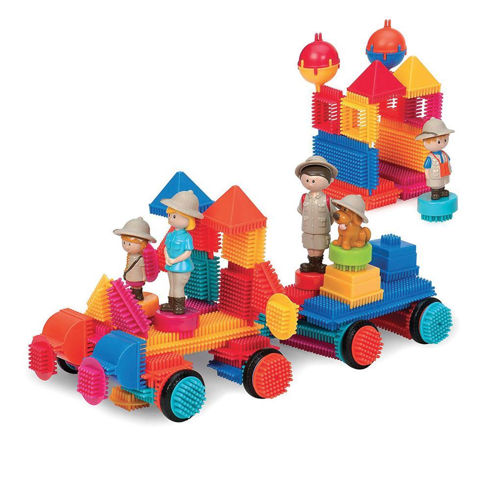 Bristle Blocks - Mallette Safari 85 pièces