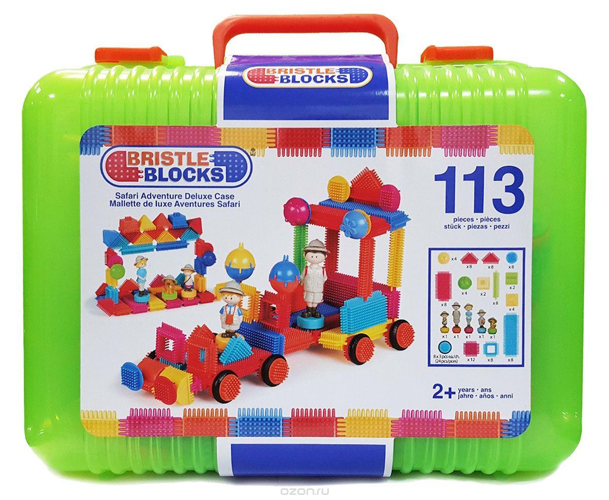 Bristle Blocks - Mallette de luxe Safari 113 pièces