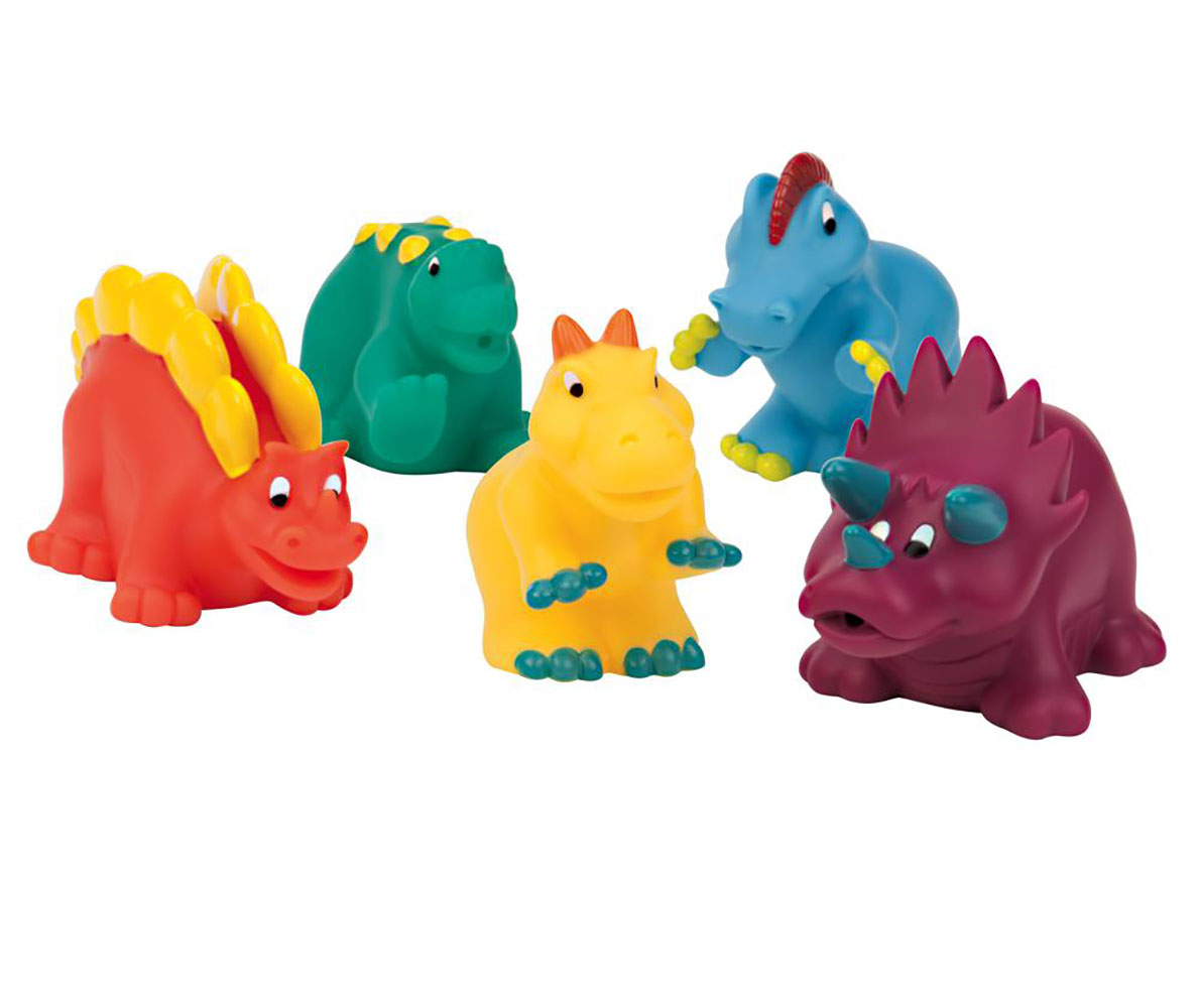 Amis de bain Dinosaures