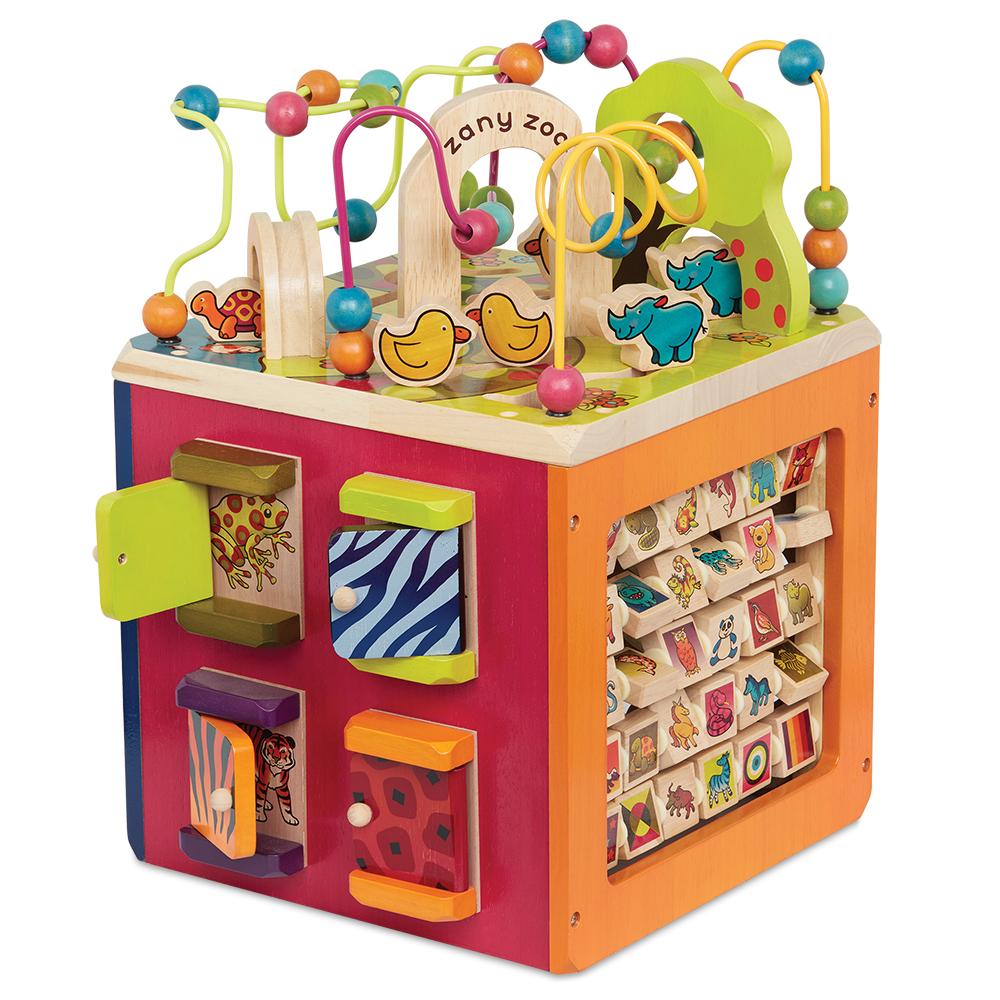 B. Woody - Cube d'activités géant Zany Zoo