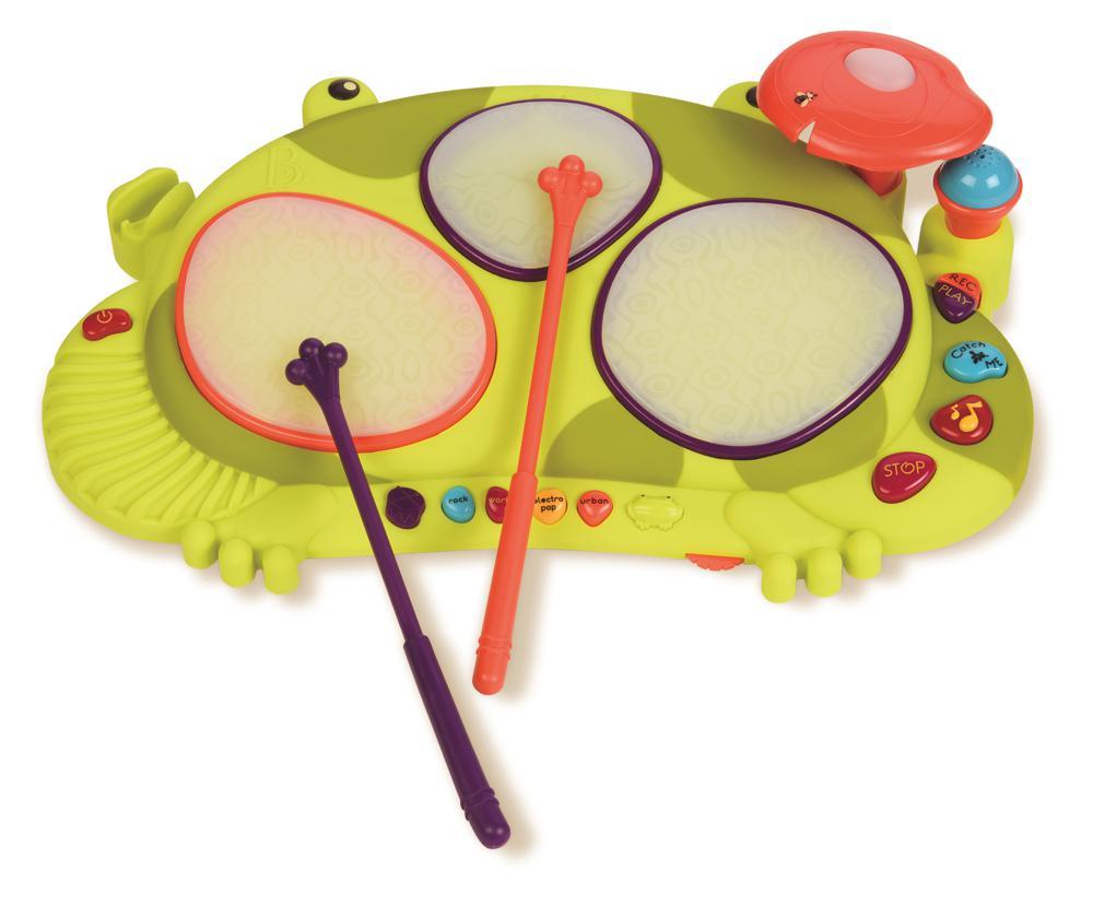 B.Musical - Tambour grenouille Ribbit-tat-tat